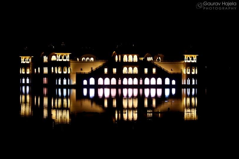 Jal Mahal at night