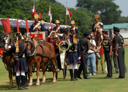 FILE PHOTO OF CAVALRY PARADE BY 61 CAVALRY (2)