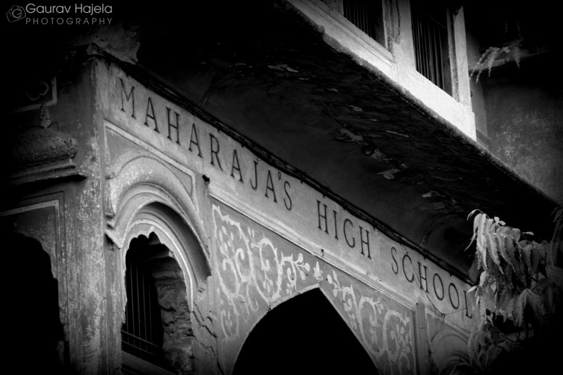 Maharaja High School, probably the oldest school of Jaipur
