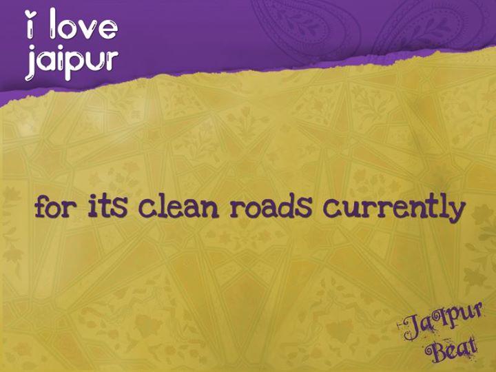 i love jaipur roads
