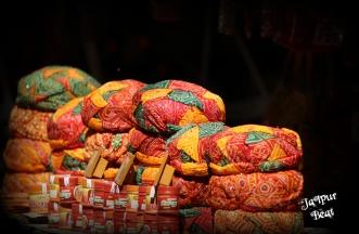 The attractive Rajasthani turbans