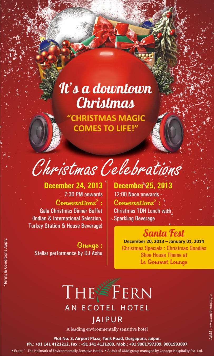 Christmas Celebrations 2013