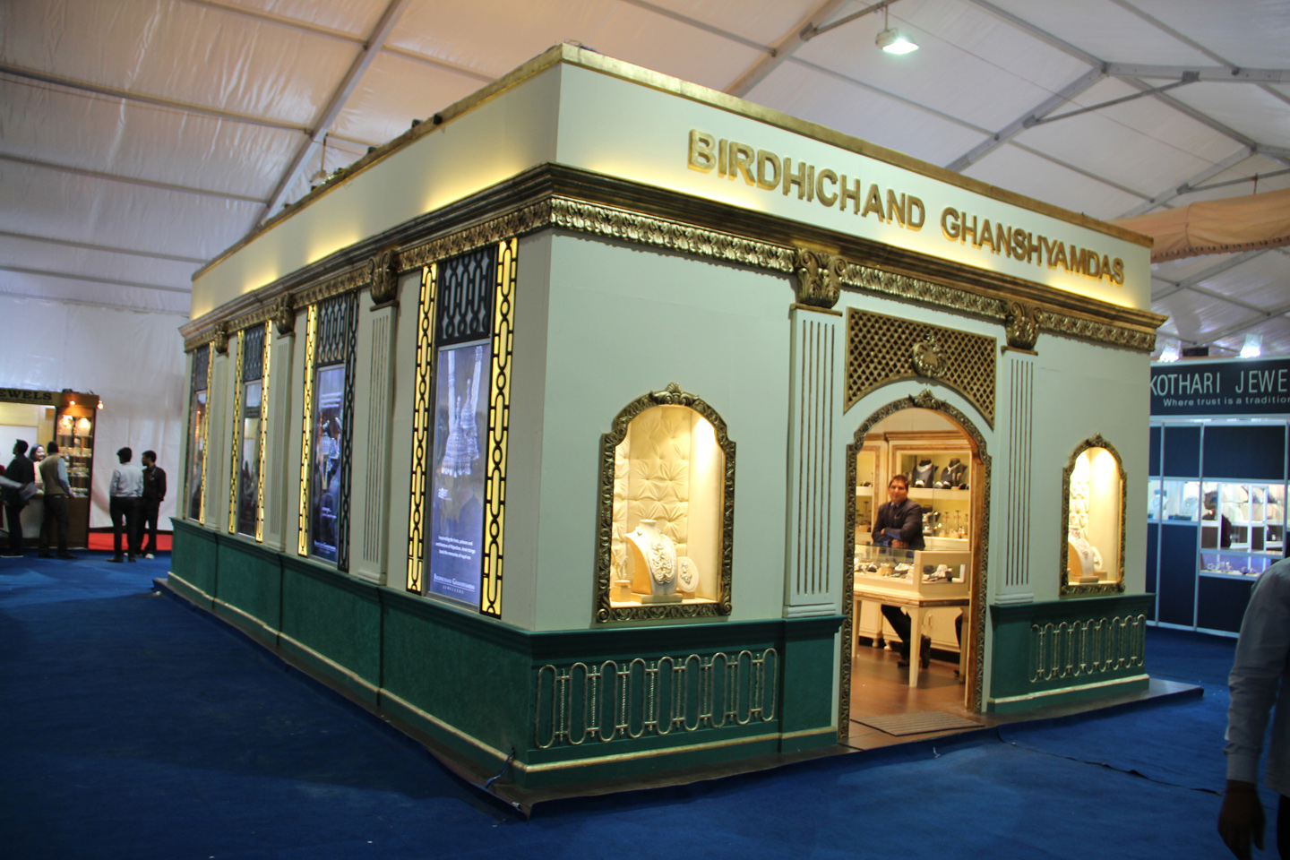 Jewellery Exhibition Booth Design : Discover opulence this weekend at the jaipur jewellery