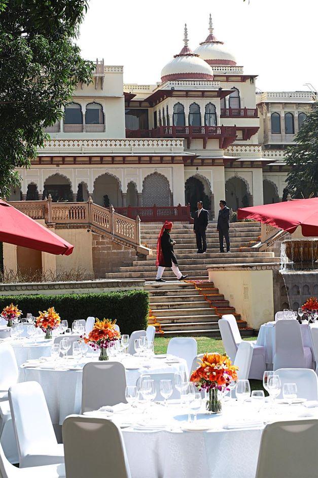Rambagh Launch Indian Garnet Bulgari