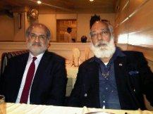 Rajnish Pardal with Farooq Abdullah, Niros Jaipur Beat
