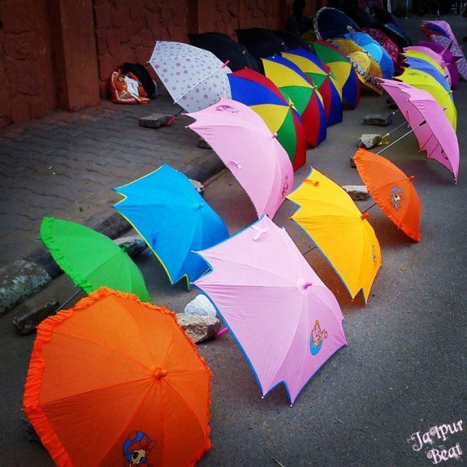 Umbrella Jaipur Beat Rains