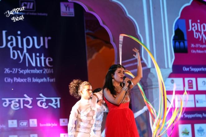 Shibani Kashyap Jaipur Beat