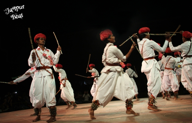 The Gair Folk Dance from Rajasthan.
