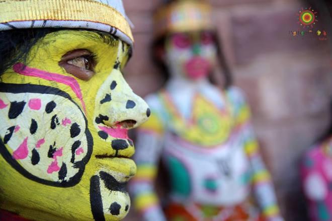 face paint marwar