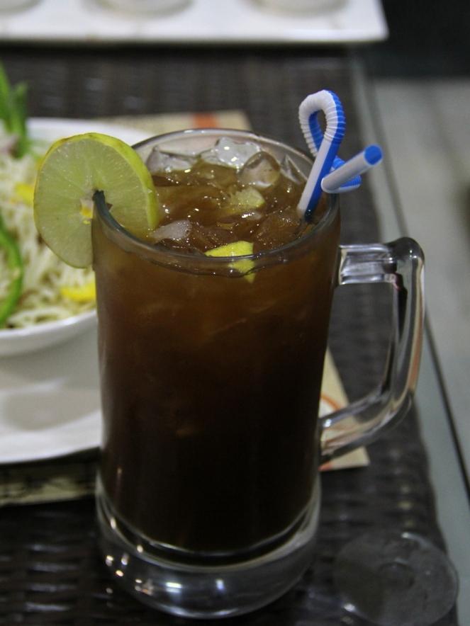 The lemmon Ice tea