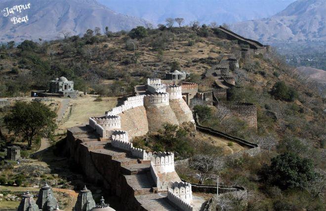 Trekking at Kumbhalgarh fort