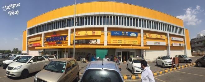 Reliance Market Jaipur Exterior