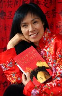 CONCORD, CA - JANUARY 10: AUTHOR ANCHEE MIN IN HER CONCORD, CA HOME ON JANUARY 10, 2004. PHOTOGRAPH BY DAVID PAUL MORRIS