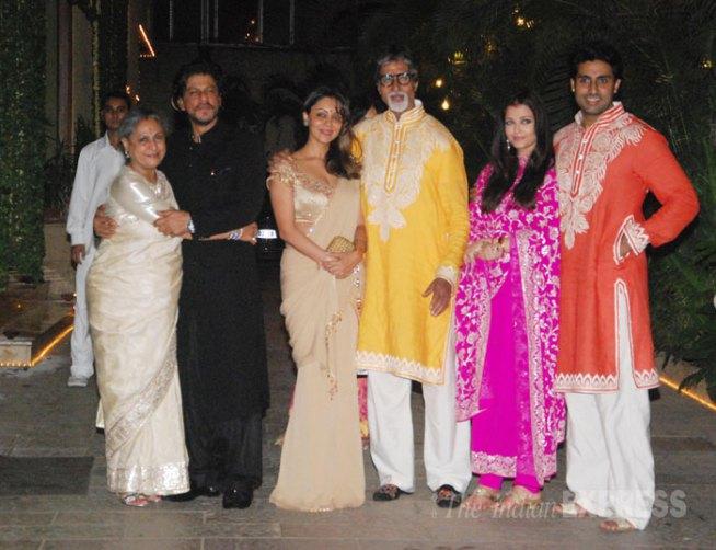 JB - diwali parties 1