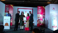 Best Restaurateur of the Year Award to Rashmi Kuchhal, by Rama Pandey