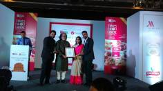 Best Restaurateur of the Year Award to Rashmi Kuchhal, by Rama Pandey