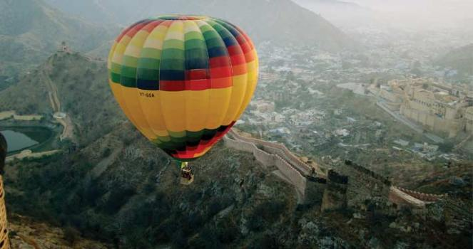 Hot Air Balloon - JB (VD)