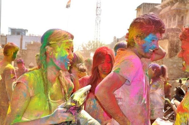 Holi In Jaipur - Elephants - RTB