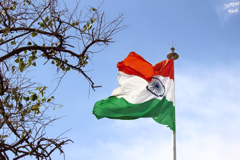 40 India Flag