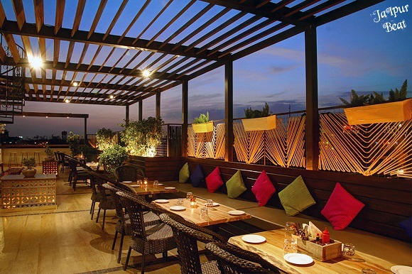 rooftop cafe in jaipur