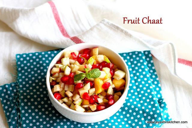 fruit chaat
