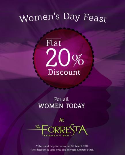 Forresta Women's Day Creative