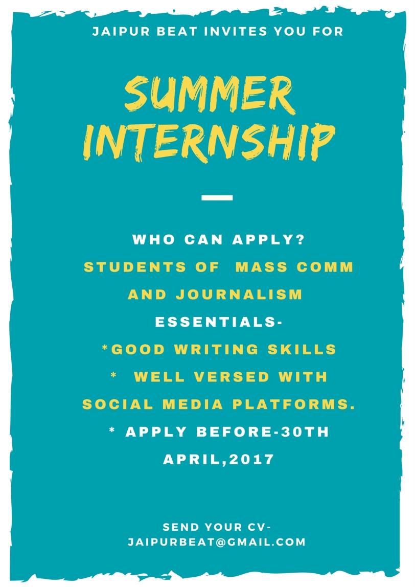 summer Intership (2)