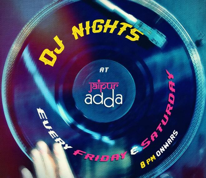 Jaipur Adda Night