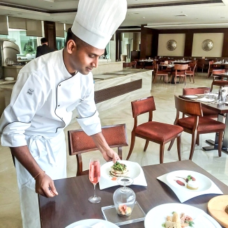 Executive Chef Lenin Sreedharan