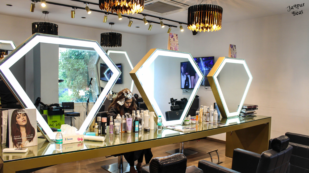 Top 6 beauty salons in jaipur s vaishali nagar jaipur beat for Aaina beauty salon electronic city