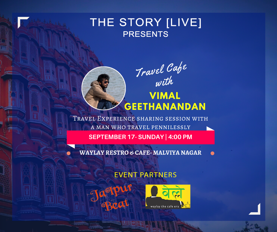 The Story Live with Vimal Geethanandan
