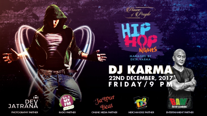 HIP HOP event at House of People, Jaipur