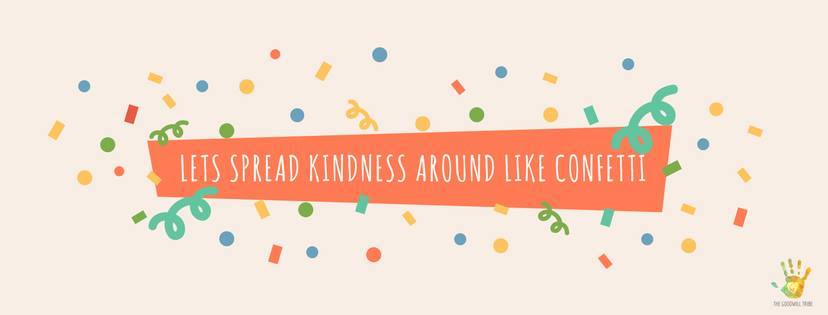 kindness in confetti