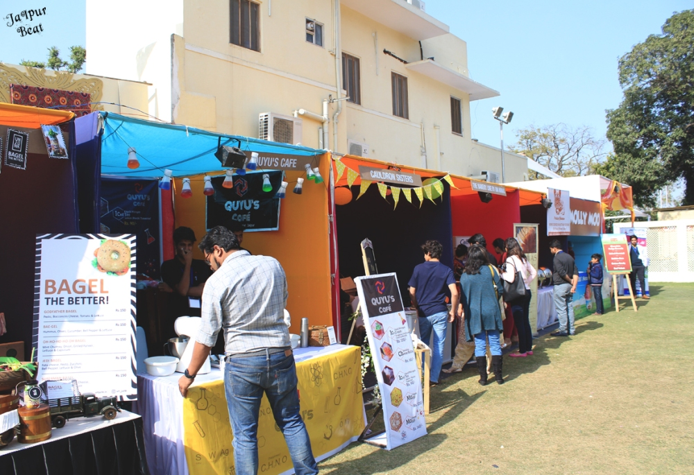 stalls from pink city