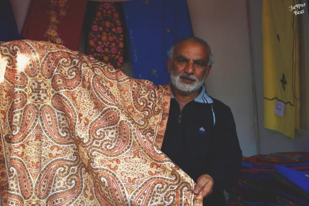 Winter and summer shawls