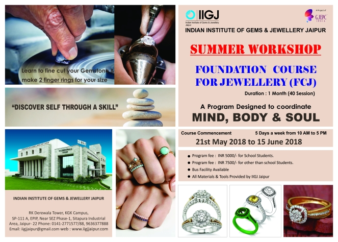 Summer jewellery Workshop