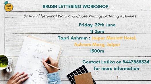 Brsuh Lettering Workshop