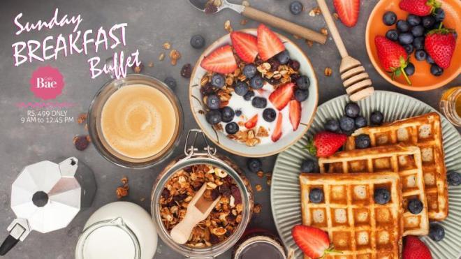 Cafe Bae - Sunday Breakfast Buffet