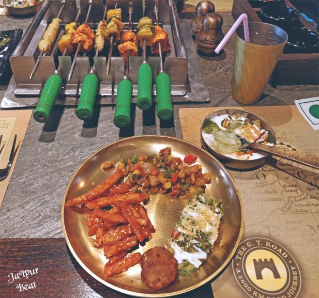starters in platter