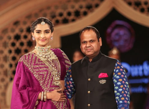Sonam Kapoor with Yash Agarwal
