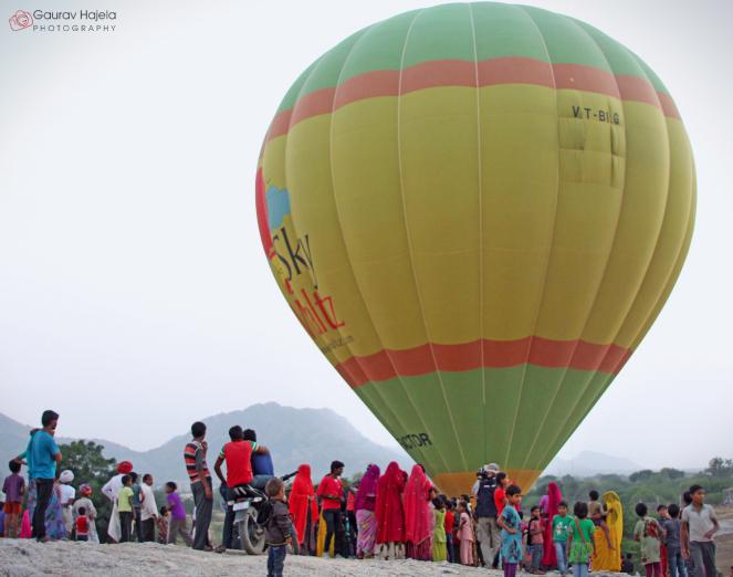 hot air balloon safari