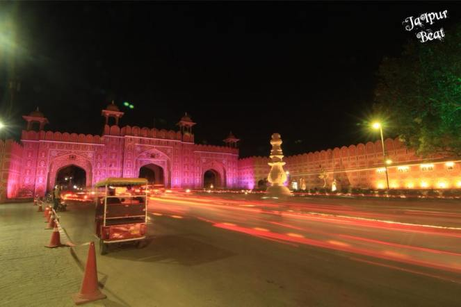 ajmeri gate_night tourism