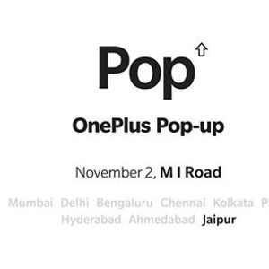 oneplus 6t pop up showroom