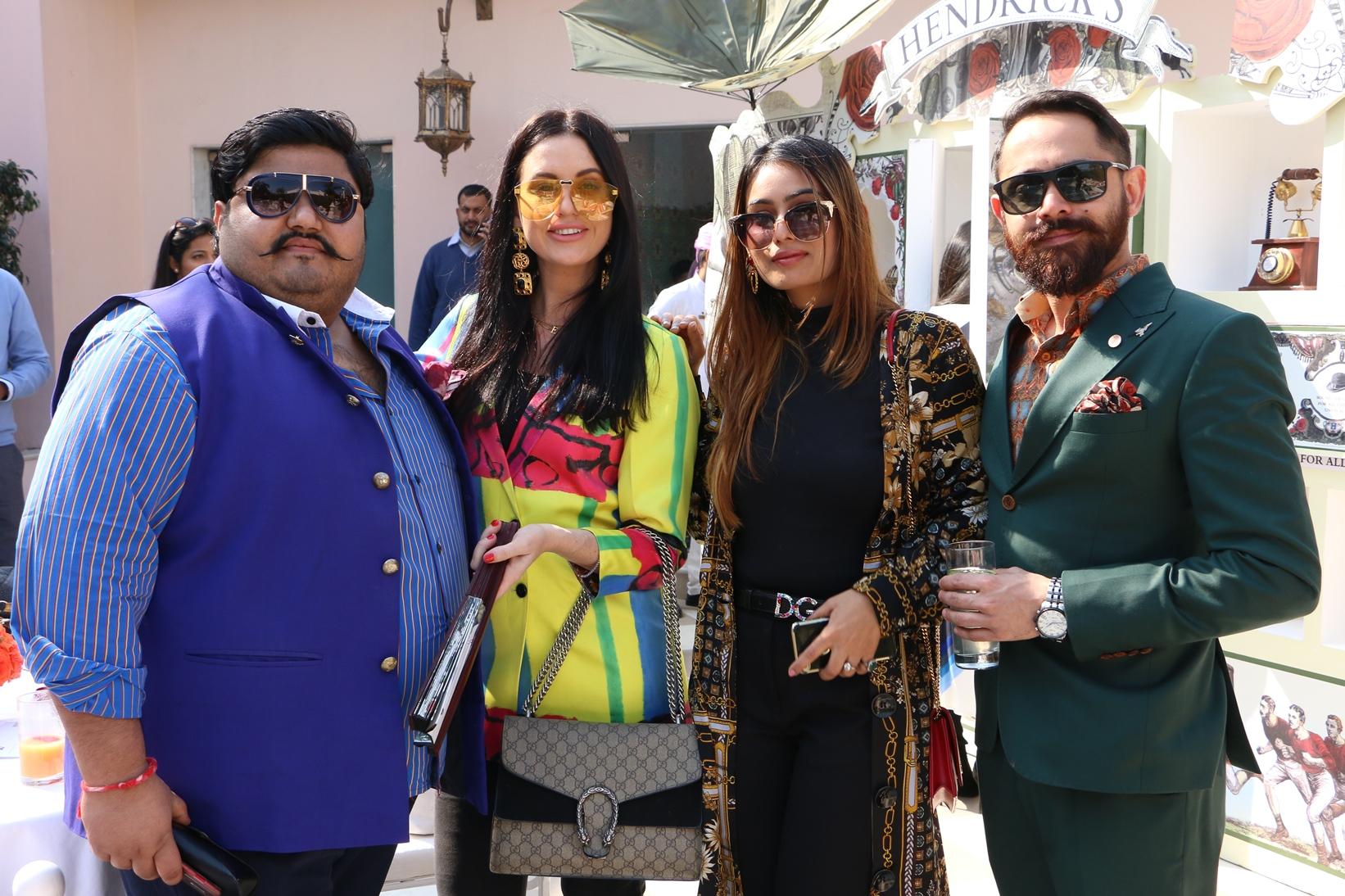 Akshat Bhardia, Sammy Nicole Lowe, Sara Rana and Angad Singh Gandhi