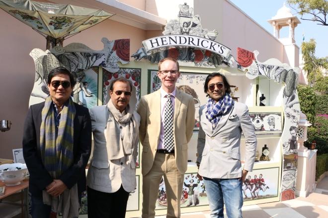 Rajesh Ajmera, Rajeev Arora, James Pennefather and Tarang Arora