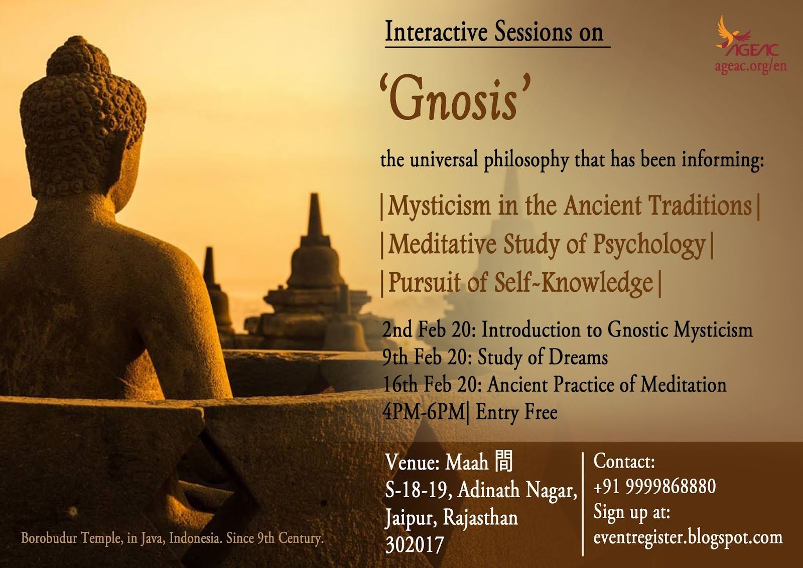 Gnostic Sessions at Maah